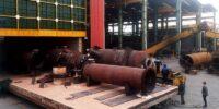 عملیات حرارتی تجهیزات پروژه توسعه پالایشگاه آبادان به وزن مجموع 220 تن