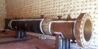 عملیات حرارتی تجهیزات مربوط به پروژه گوره – جاسک به وزن مجموع 130 تن