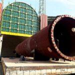 عملیات حرارتی تجهیزات پروژه سلمان مربوط به 5 دستگاه راکتور و یک دستگاه دی اریتور به وزن مجموع 450 تن